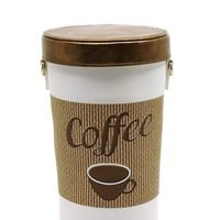 Coffee Cup Vegan Faux leather Purse