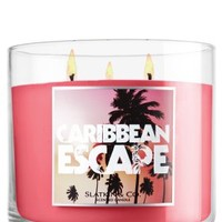 Caribbean Escape 14.5 oz. 3-Wick Candle   - Slatkin & Co. - Bath & Body Works