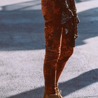 Free People Lennon Printed Skinny