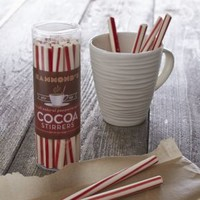 Peppermint Cocoa Stirrer