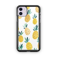 Pineapple Pattern iPhone 11 Case