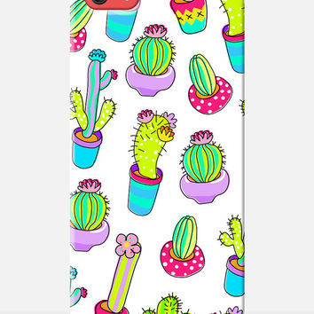 CACTUS iPhone 5c Case, mexican iphone 5c case, colourful pattern case, garden print iphone case, girly phone case, flower print iphone case