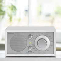 Tivoli Audio M1BTWHT Model One BT- Bluetooth AM/FM Radio (White/Silver): Amazon.ca: Electronics