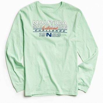 Nautica + UO Long Sleeve Tee - Urban Outfitters