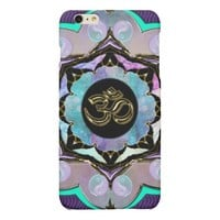 Purple Moon Mandala Golden OM iPhone 6 Plus Case