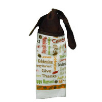 Kitchen Hand Towel, Thanksgiving Towel, Dish Towel, Hand Towel, Hanging Towel, Tie on Towel, Towel with Ties, Kitchen Decor, Dish Towel