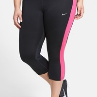 Plus Size Women's Nike 'Essential' Dri-FIT Capris,