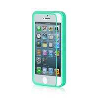 DW AIO Wrap-up w/ Screen Protector Case for iPhone 5 / 5S - Mint Green