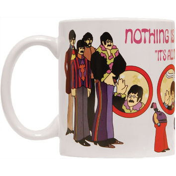 Beatles Nothing Is Real Coffee Mug