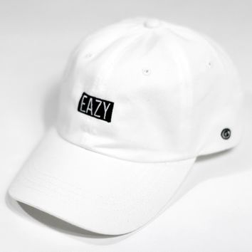 Mini Eazy Box Logo Cap Wht