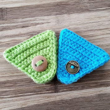 Crochet Cord Holder, Headphone Organizer, Earbud Organizer, Smartphone Accessory, Earphone Cord keeper, Headphone USB Winder