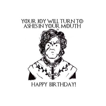 Shop Funny Sarcastic Birthday Card on Wanelo