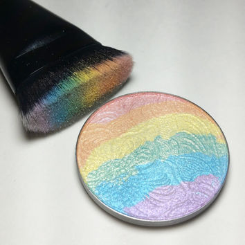 PRISM Rainbow multi-color Illuminating Pressed Powder