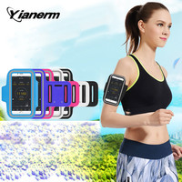 Running Sports Arm Strap phone Holder Case Sport Exercise Workout Band Pouch For iPhone 6 6S Plus Galaxy S5 S6 S7 Edge Note 5