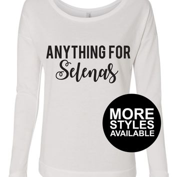 Anything For Selenas, Graphic Tee