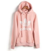 PINK Womens Mens adidas Sweater Hoodie