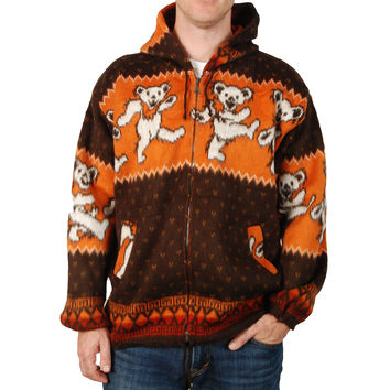 Grateful Dead Men's  Dancing Bears Jacket Multi
