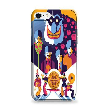 Beatles (yellow submarine on blue) iPhone 6 | iPhone 6S Case