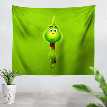 The Grinch V2 Tapestry