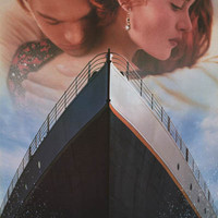 Titanic Voyage of Love 1998 Movie Poster 23x35