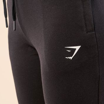 Gymshark High Waisted Joggers - Black