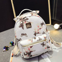 Trendy High Quality Floral  Women's Small Backpack