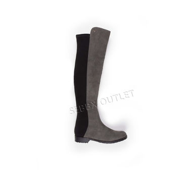 Guess Over the Knee Boots Chimara Gray Multi
