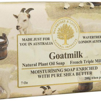 Wavertree & London Bar Soap 7oz - Goats Milk