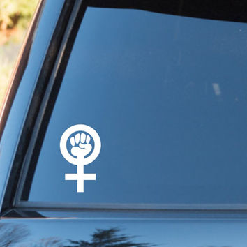 Feminist Power Vinyl Decal