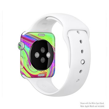 The Neon Color Fusion V11 Full Body Skin Set for the Apple Watch