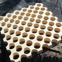 Wood trivet made from bamboo..simple but elegant