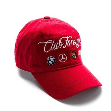 ONETOW Club Foreign German Series Hat Red