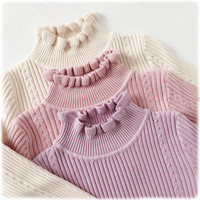Pastel knitting bottoming shirt free shipping from HIMI'Store