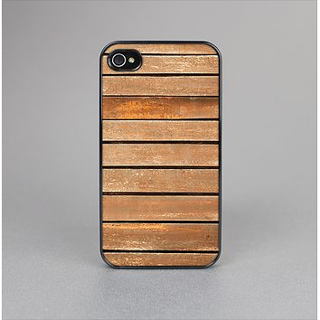 The Worn Wooden Panks Skin-Sert Case for the Apple iPhone 4-4s