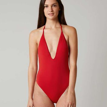 BIKINI LAB HALTER SWIMSUIT