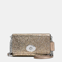 Crosstown Crossbody in Glitter Fabric