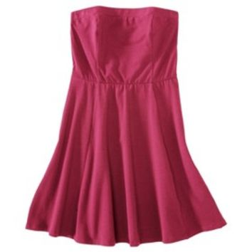 Mossimo Supply Co. Junior's Strapless Fit & Flare Dress - Assorted Colors