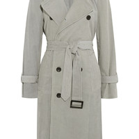 Current/Elliott + Charlotte Gainsbourg The Oversized corduroy trench coat – 75% at THE OUTNET.COM