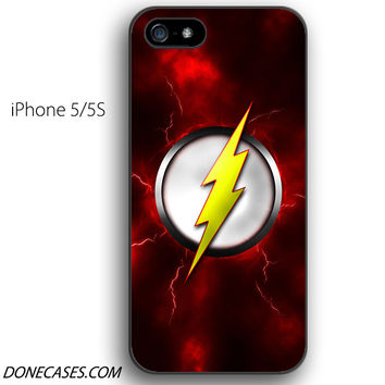 THE FLASH LOGO SCARLET SPEEDSTER iPhone 5 / 5S Case