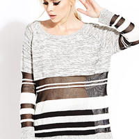 Static Stripes Sweater