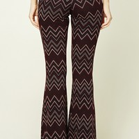Zigzag Flared Pants