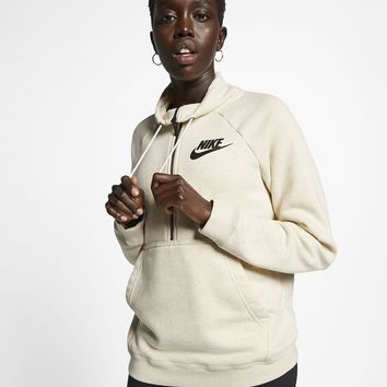 Nike Sportswear Rally Women's Long-Sleeve 1/2-Zip Top. Nike.com