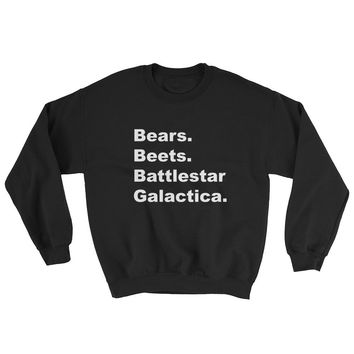 Bears Beets Battlestar Galactica Sweatshirt ,The Office tv