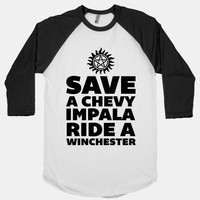 Save a Chevy Impala, Ride a Winchester