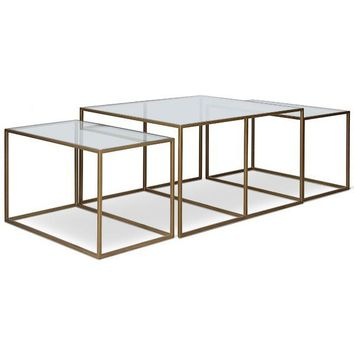 Cube Nesting Cocktail Tables