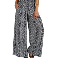 Promo-navy Roundabout Tribal Pants