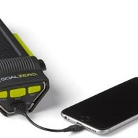 Goal Zero Guide 10 Bundle + Solar Panel, Rock Out 2 Speaker & Torch 250 Flashlight - REI.com