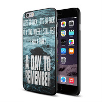 A Day To Remember Lyrics quote .if00 for iPhone case and Samsung galaxy case