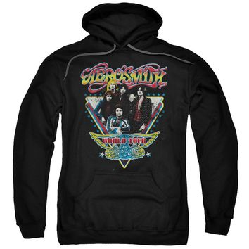 Aerosmith - Triangle Stars Adult Pull Over Hoodie