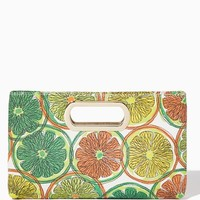 Citrus Slice Chain Strap Clutch | Handbags | charming charlie